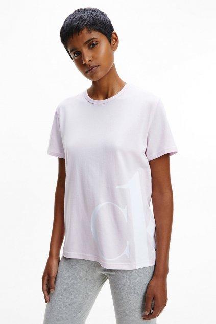 CK ONE tričko dámské - růžové