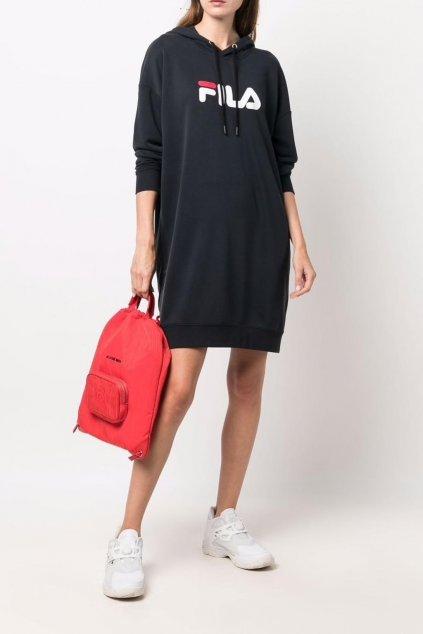 FILA Elish teplákové šaty - černé