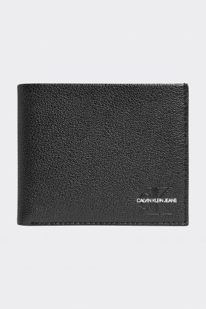 Calvin Klein Jeans kožená peněženka pánská - černé