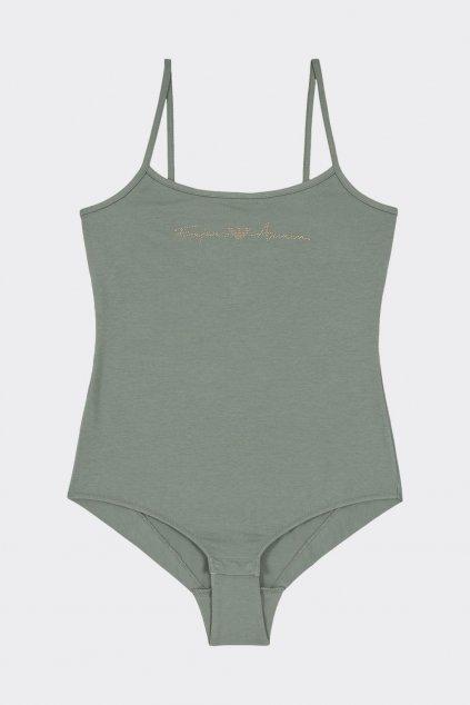 Emporio Armani Basic Cotton body - zelené