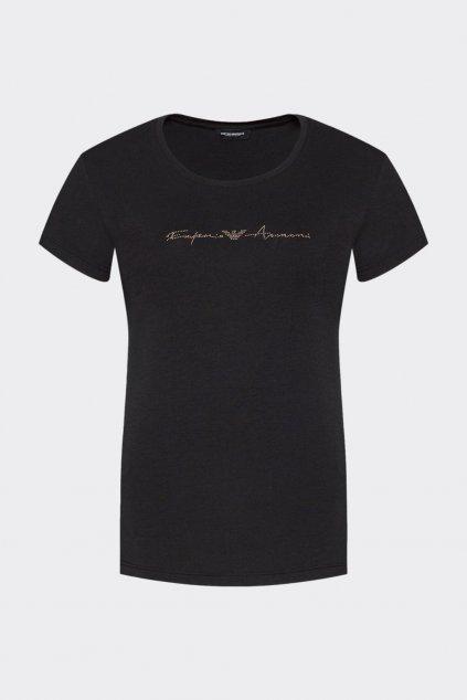 Emporio Armani Basic Cotton tričko dámské - černé