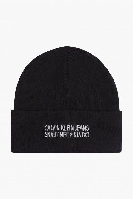 Calvin Klein Jeans beanie čepice pánská - černá