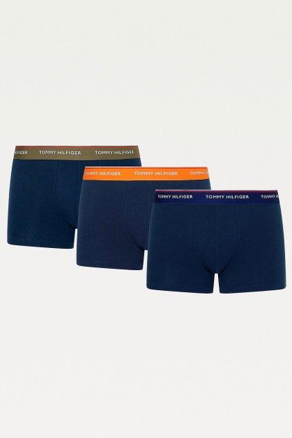 Tommy Hilfiger Premium Boxerky 3 balení -  tmavě modrá