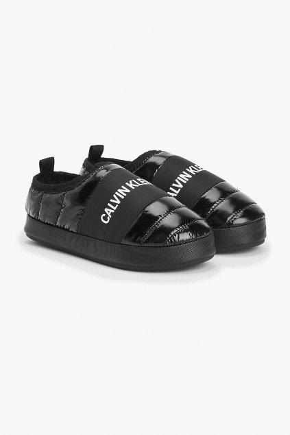Calvin Klein Jeans bačkory dámské- černá