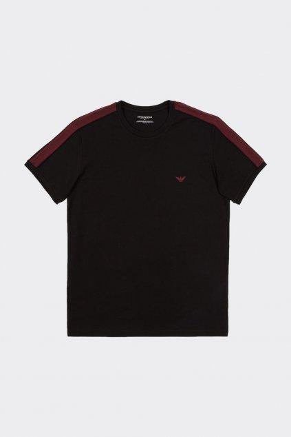 Emporio Armani logoband tričko pánské - černá