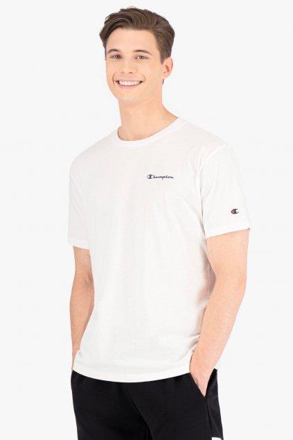 Champion pánské tričko s logem - bílé