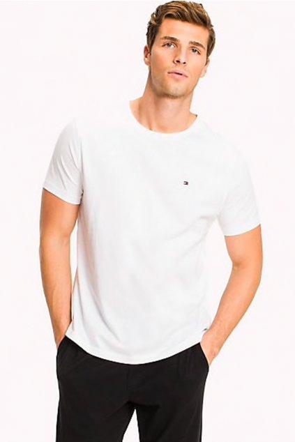 Tommy Hilfiger Cotton Tričko Icon - bílé