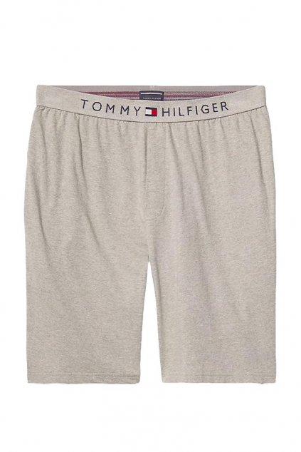 Tommy Hilfiger Cotton Šortky - šedé