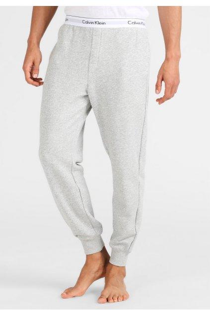 Calvin Klein Iconic Tepláky pánské - šedé