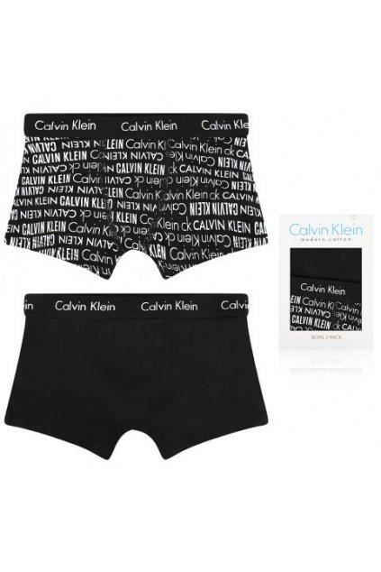 PRO DĚTI! Calvin Klein 2 balení Boys Trenky