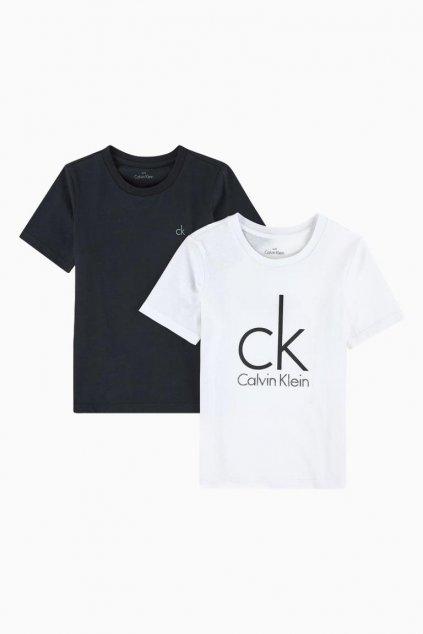 PRO DĚTI! Calvin Klein 2 balení Boys Trička
