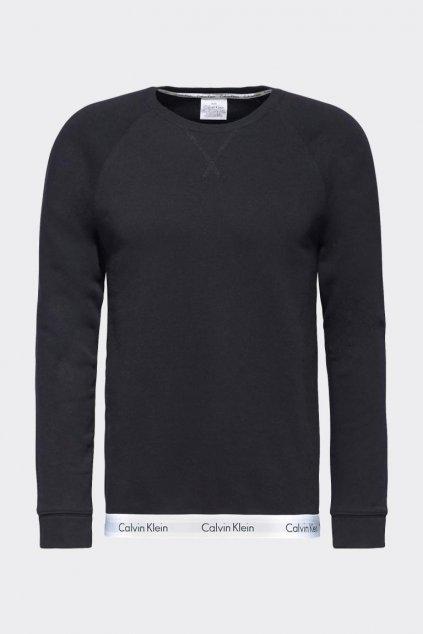 Calvin Klein Modern Cotton Mikina pánská - černá
