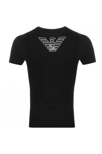 Emporio Armani Crew Neck tričko EA - černé