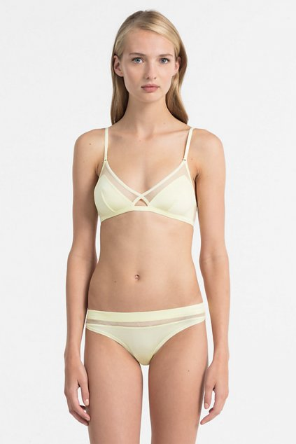 LIMITKA! Calvin Klein Youthful braletka - agnes yellow