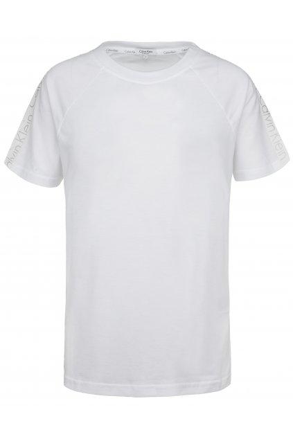 CK Logo tape tričko- bílé