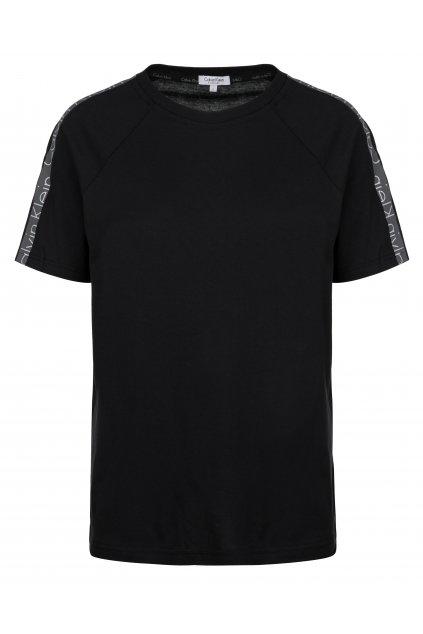 CK Logo tape tričko- černé