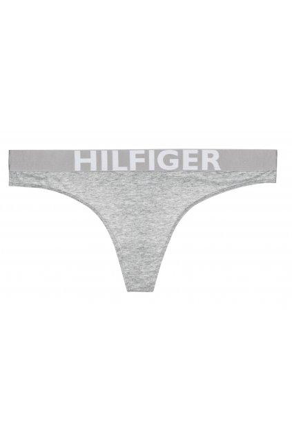 Tommy Hilfiger Bold tanga - šedá