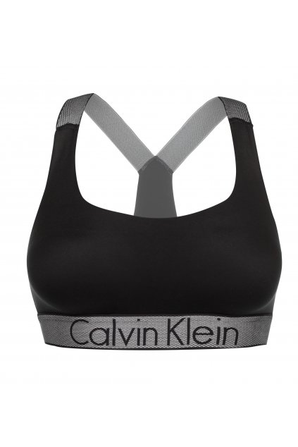 Calvin Klein Customized Stretch braletka - černá
