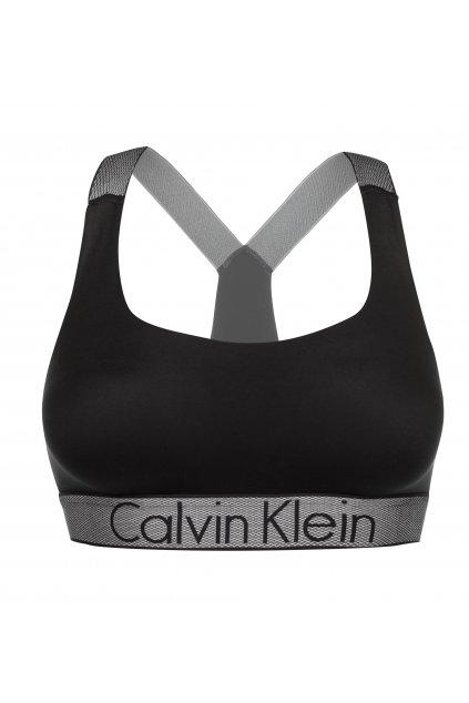 Calvin Klein Customized Stretch braletka - černá