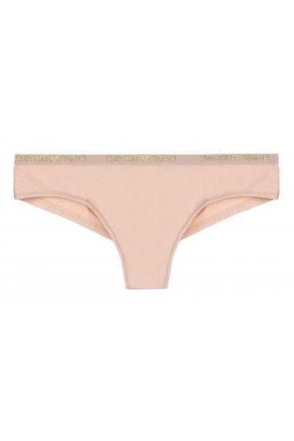 Emporio Armani Visibility cotton brazilky- light pink