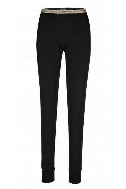 Emporio Armani HolyCotton kalhoty - černé