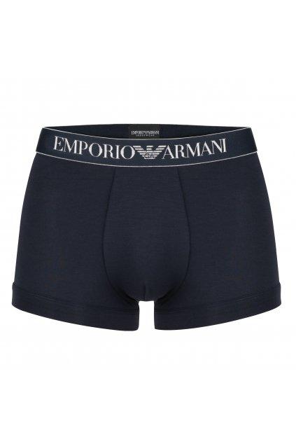 Emporio Armani Boxerky Soft Modal - marine