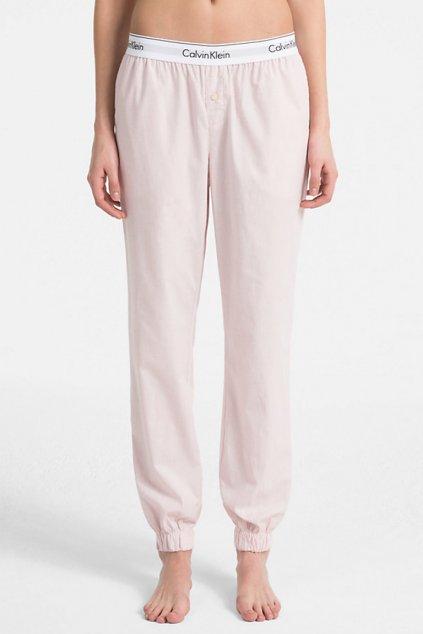 Calvin Klein kalhoty - růžové