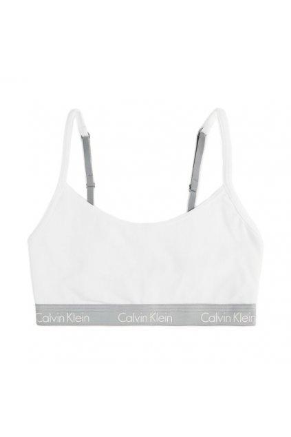 Calvin Klein CK ONE cotton bralette - bílá