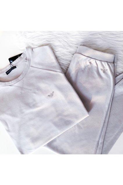Luxusní souprava Emporio Armani Cozy Nights - silver