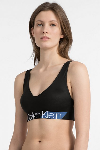 Calvin Klein Bold Accents Braletka - black/commodore blue