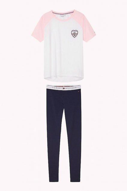 Tommy Hilfiger valentýnský set - white/navy blazer
