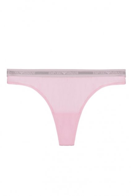 Emporio Armani Microfiber tanga -  candy pink