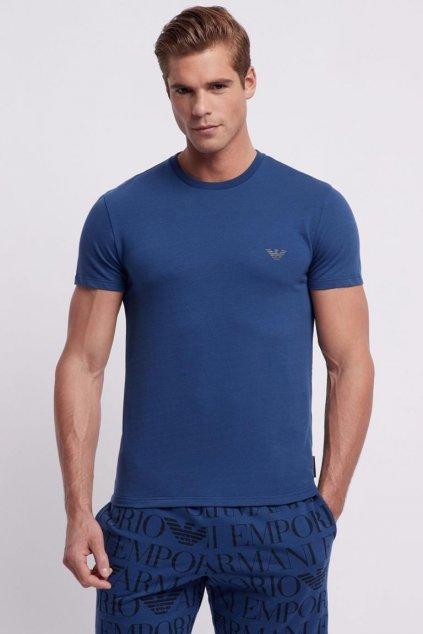 Emporio Armani LogoManiac tričko - modré