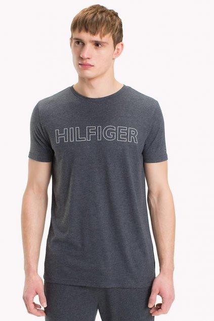 Tommy Hilfiger Limited Logo Tričko - tmavě modré