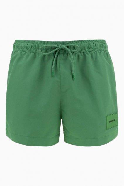 Calvin Klein Plavky Core Solids - zelené