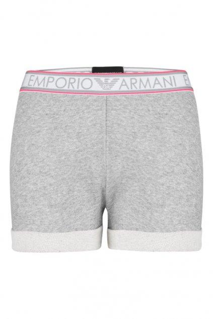 Emporio Armani Sporty cotton šortky - šedé
