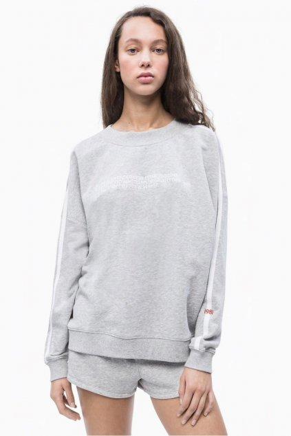 Calvin Klein Statement Mikina - šedá