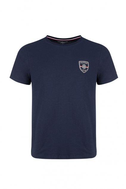 Tommy Hilfiger Crest tričko - navy