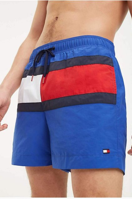 Tommy Hilfiger plavky colour blocked - surf the web