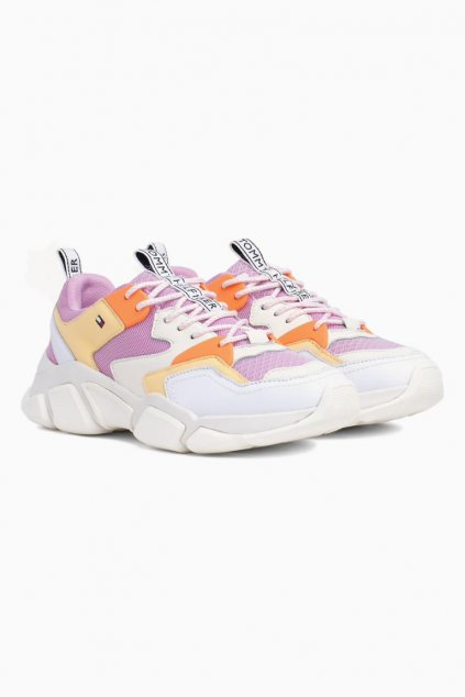 Tommy Hilfiger chunky trainers - pink lavender
