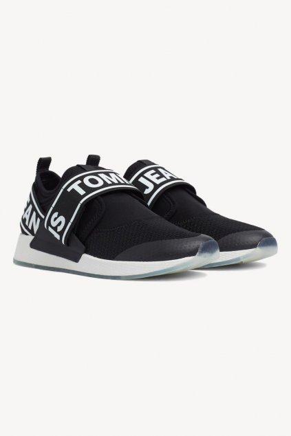 Tommy Jeans flexi sneaker - black