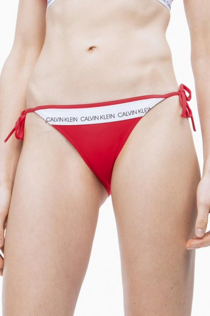 Calvin Klein string cheeky plavky- laras lipstick