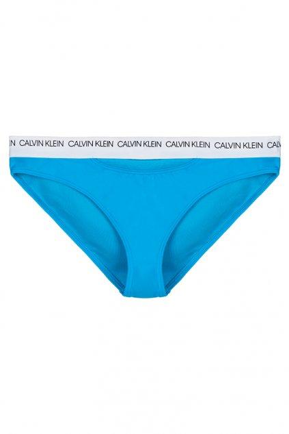 Calvin Klein bikini plavky - maldive blue