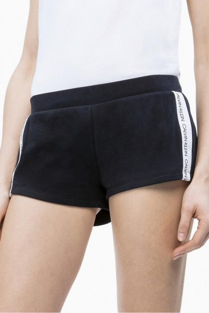 Calvin Klein logo šortky - black