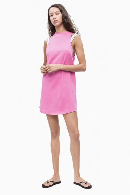 Calvin Klein tank dress - phlox pink
