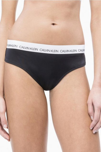 Calvin Klein hipster brazilky plavky - black