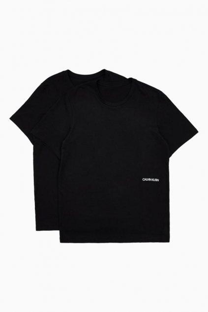 Calvin Klein Unisex trička 2 - balení - černá