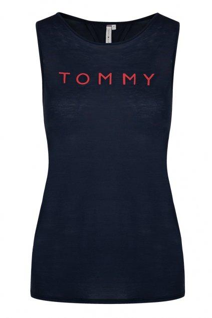 LIMITKA! Tommy Hilfiger wrap tílko- navy blazer