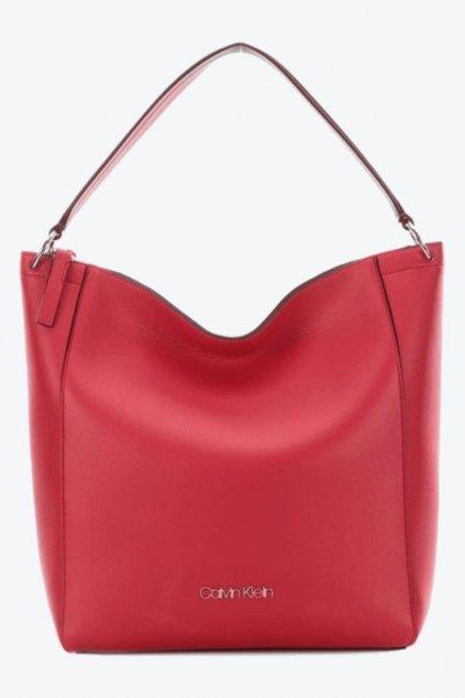 Calvin Klein Hobo kabelka - červená