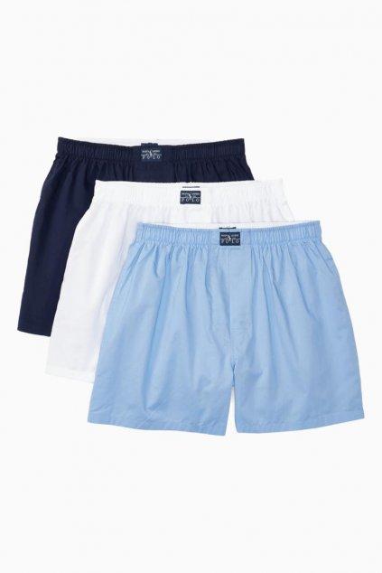 Polo Ralph Lauren trenýrky 3- balení - modrá, bílá